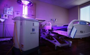 Pulsed Xenon UV Disinfection